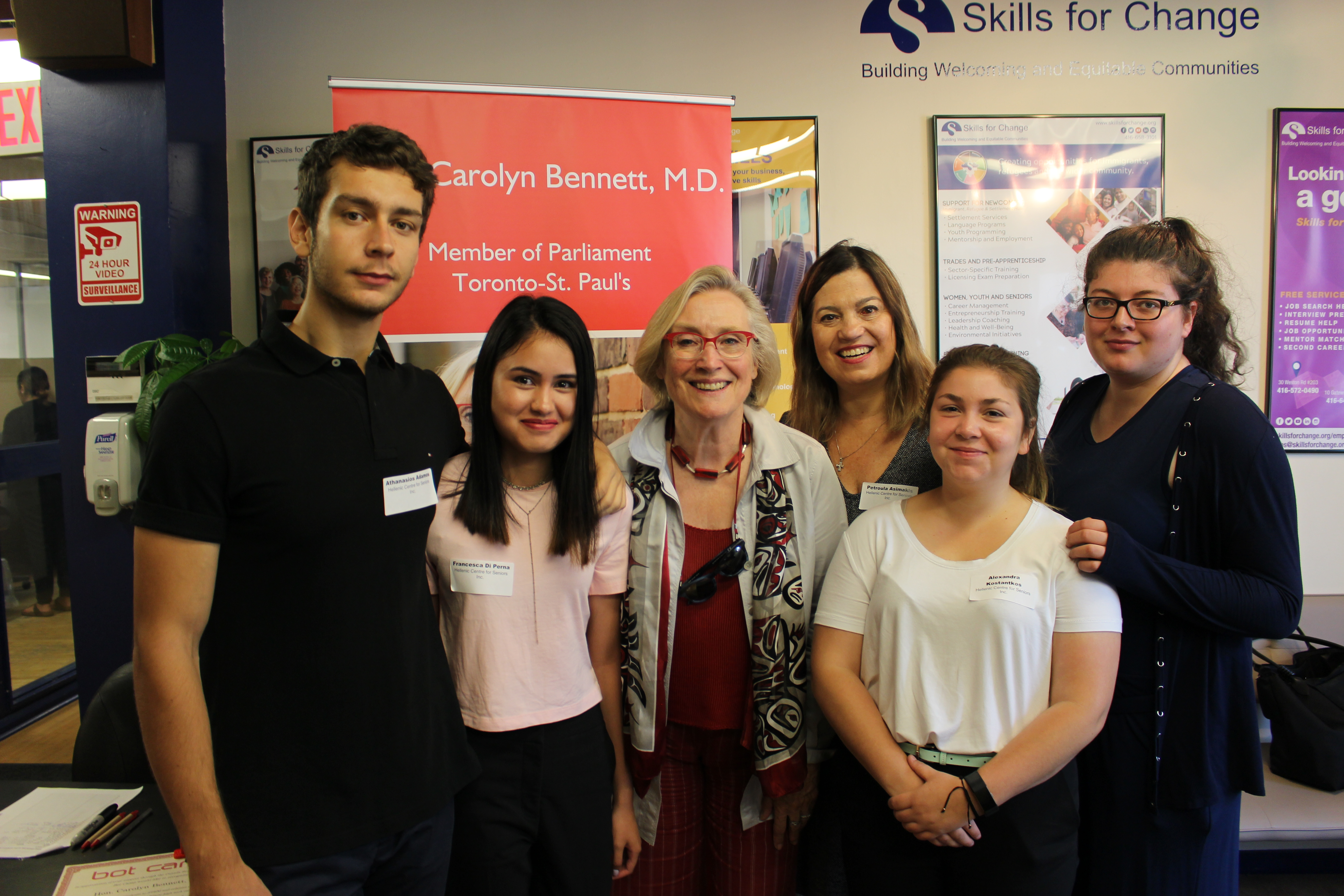 Skills For Change Meet And Greet With Mp Carolyn Bennett Skills
